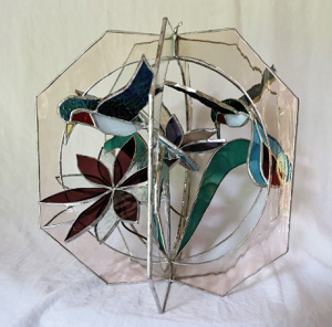 3 dimensional Hummingbird whirl.